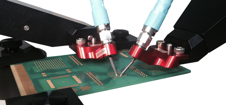 board with probes