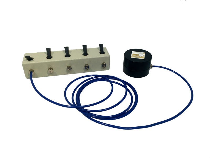 GTL 5 Port Vacuum Manifold with Calibration Substrate Holder